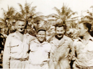 00 Dad with friends WWII